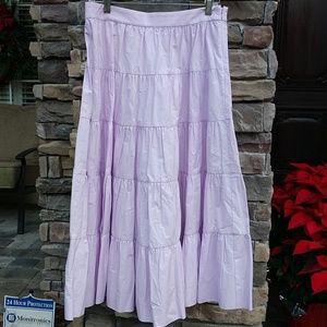 J Crew tiered skirt 8 NWT